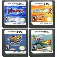 Tarjeta de consola de cartucho de juego de DS, Mega Man, serie en inglés para Nintendo DS 3DS 2DS