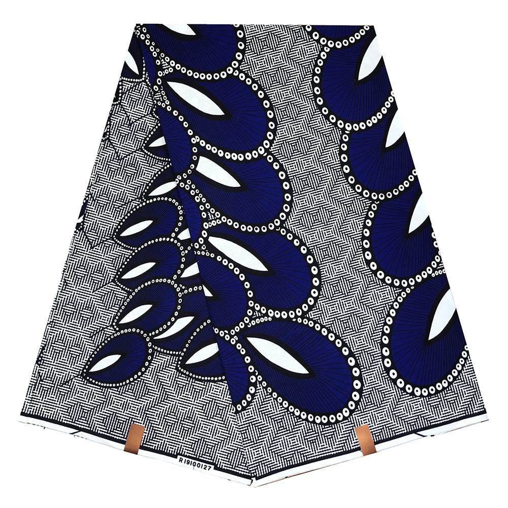 African Wax Wax Ankara Fabric 2020 Latest African Fabric Print Wax African Ankara 100% Cotton Pagne Africain Hot Wax