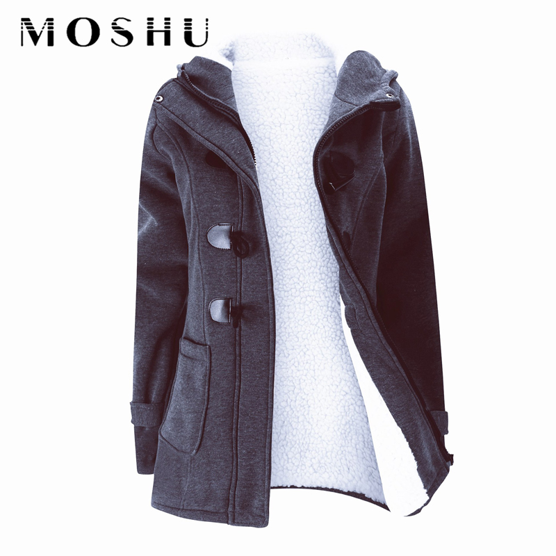 Winter Hooded   Parka   Women Long Teddy Coat Thick Oversized Snow Cotton Jacket Female Casual Solid Ladies Overcoat Plus Size