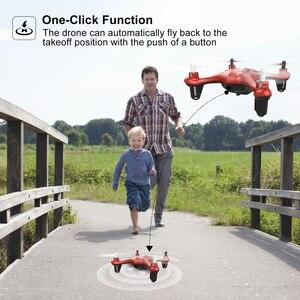 Image 5 - Zangão da câmera de atoyx com câmera hd não 4k mini zangão rc quadcopter fvp wifi com grande angular hd alta altura headless modo de espera