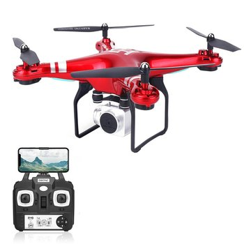цена на SH5HD FPV Drone with 1080P WIFI Camera Drone Live Video Altitude 2.4GHz 4 Channels 6 Axis Gyro RC Helicopter with 2/3 Batteries