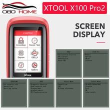 XTOOL X100 PRO2 OBD2 Auto Key Programmer/Mileage adjustment Including EEPROM Code Reader Free Update Multi-language