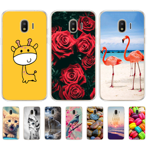 Image 2 - TPU Phone Cases for samsung J2 2018 case Slicone Fashion back cover for Samsung Galaxy j2 2018 SM J250F case New design
