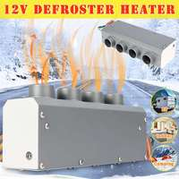 Car Heating 12V 800W 4 Holes Heater Portable Automatic Warmer Low Noise Vehicle Window Glass Defroster Demister
