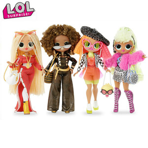 Original LOL Surprise dolls OMG Winter Disco Dolls LOLs dolls blind box Girl Play House Toys Gifts for girl's Children's gifts(China)