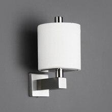 Bagnolux soporte de papel higiénico cuadrado, gancho para pañuelos de inodoro de acero inoxidable 304, venta al por mayor, SUS papeles rodantes para Baño