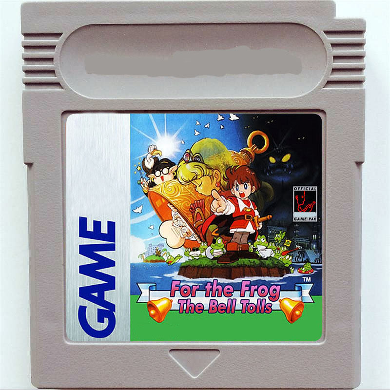 8bit game card : For the Frog the Bell Tolls ( USA Version!! English Language!! ) image