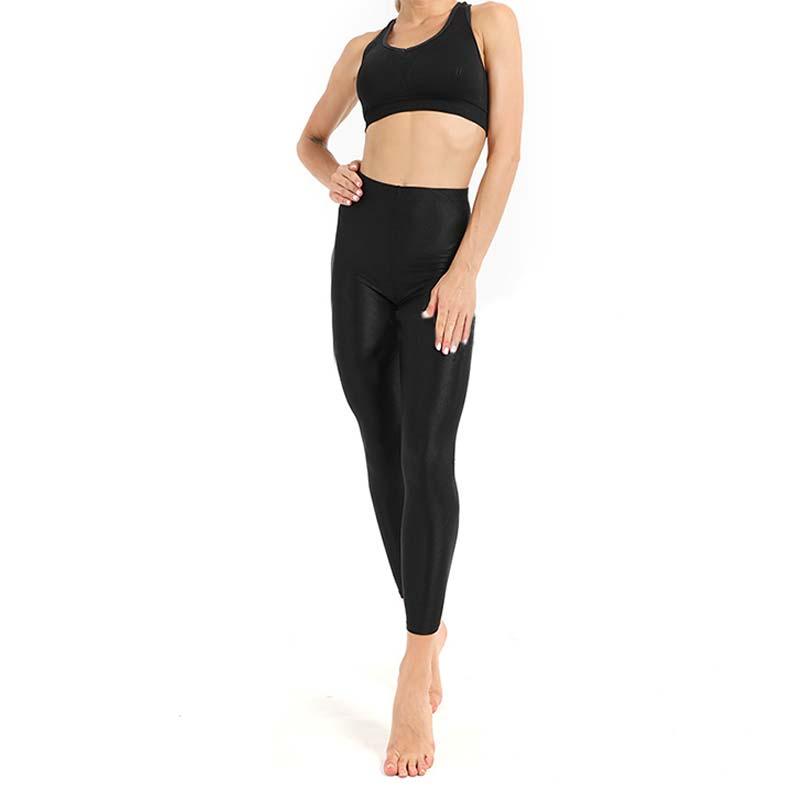 Clothing - Solid Fluorescent Shiny Leggings
