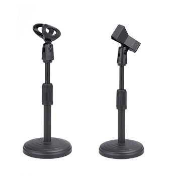 Mini Foldable Desk Microphone Stand Adjustable Microphone Bracket Support Mount Holder Mic Microphone Bracket Support 1