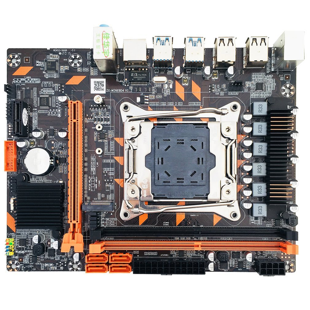 X99 DDR4 Motherboard Slot LGA2011-3 USB3.0 NVME M.2 SSD Support DDR4 Memory And Xeon E5 V3 Processor D4 RAM 1