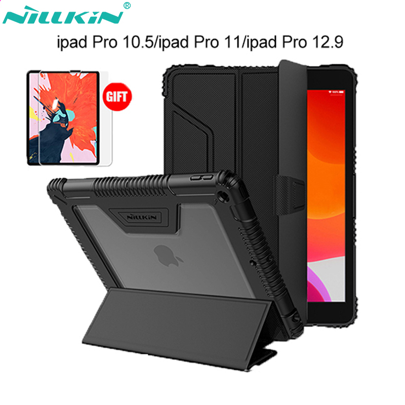 Original Nillkin PU Leather Smart Cover Case Stand for iPad Air 2019/Pro 10.5 2017/Mini