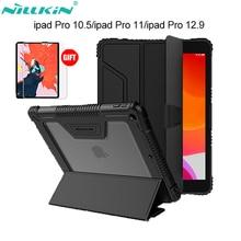 מקורי Nillkin עור מפוצל חכם כיסוי מקרה Stand עבור ipad אוויר 2019/pro 10.5 2017/מיני 2019/מיני 4/פרו 11 2018/Pro 12.9 (2018)