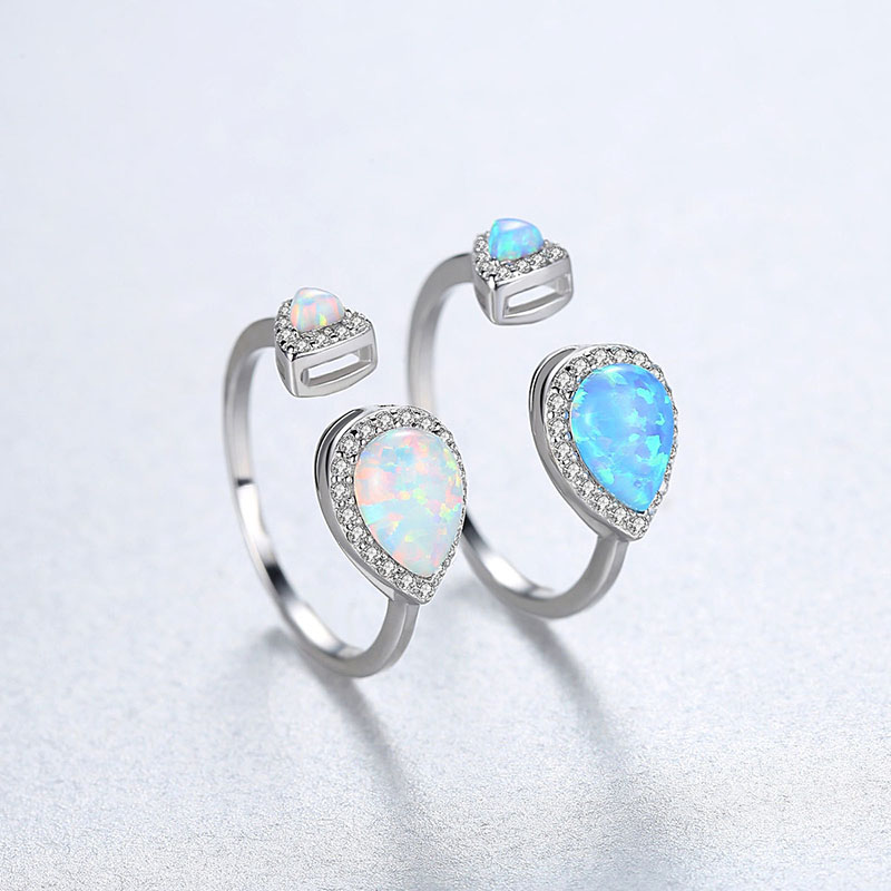 925 silver Gemstone Ring for women 6