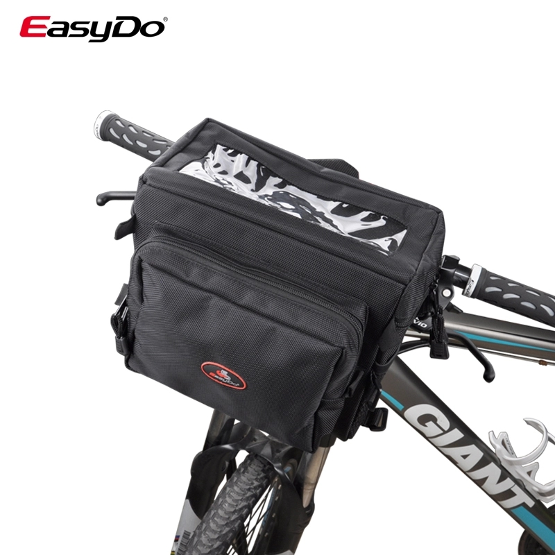 EasyDo Bike Bicycle Bag Waterproof MTB Road Handlebar Front Bag Pouch Pannier Large Capacity 6L Bike Accessories