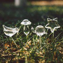 Glas Planten Water Automatische Tuin Systeem Self Watering Apparaat Tuingereedschap Thuis Planten Water Druipen Systeem