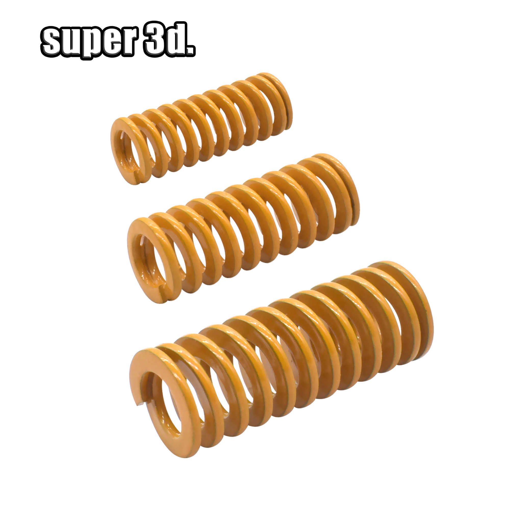 25mm Long Blue Compression Springs 3D Printer Accessories Heatbed Springs Compression Mould Die Springs ONLYKXY 8mm OD 5mm ID Compression Springs