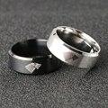 Страшного волка кольцо Песнь Льда и Огня и Джона Сноу, чистый цвет волосы, как у дайнерис логотип черный серебристый Цвет Горячая Мода из нер...