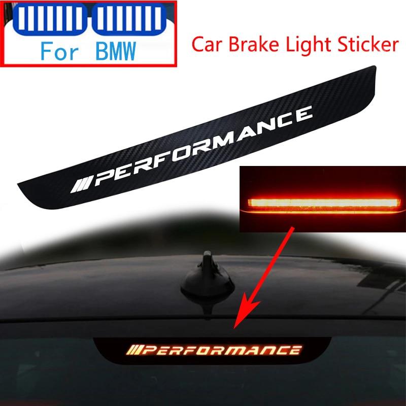 Карбон M автомобильный стоп-сигнал декоративная Стикеры для BMW Performance Series 1, 3, 5, 7, E46 E90 E92 E93 G11 D12 F10 F01 F02 G30 G31 G20