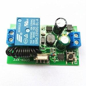 433 MHz AC 110V 220V беспроводной 1CH RF передатчик дистанционное управление переключатель + RF релейный приемник для открывания двери гаража светильн...