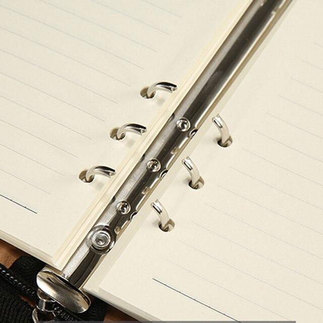 A5 kustleer Notebook Spiraal Persoonlijke zuiv planificador organizador Bloc de notas Reizen Agenda Manager Padfolio mapa Rekenmach