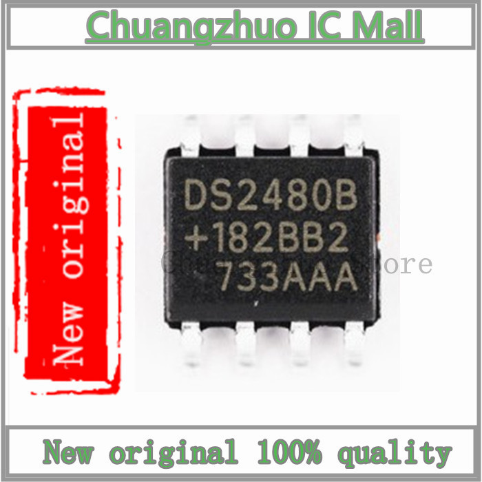1PCS/lot  DS2480B DS2480 SOP-8 IC Chip New Original