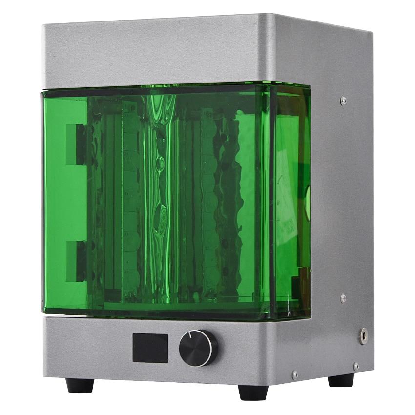 Intelligent UV Wavelength LED Rotating Curing Box Chamber For 3D Printer Resin New Desktop 3D Resin UV Rotating Curing Machine