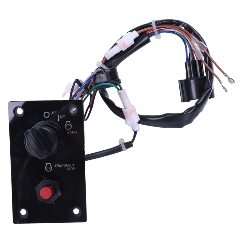 for Suzuki Outboard Single Ignition Key Switch Panel 37100 96J25|Electronic Ignition| |  - title=