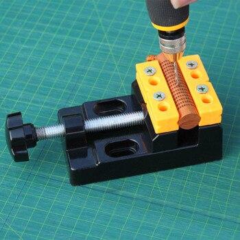 цена на Portable Carving Bench Clamp 57mm Multi-Purpose Pliers Mini Vise Aluminum Alloy Table Vise Wenwan Fixed Fixture Tool Hot Sale