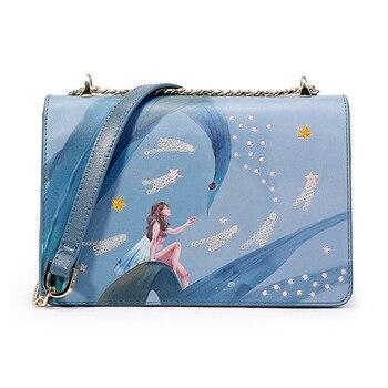 WOMEN'S Bag Singapore New Bag Women's Limited Korean-style Versatile Versatile Chain Shoulder Small Square purses hand bag