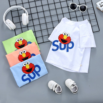 Summer Kids T-Shirts Boys Girls Children Clothes 1-6Y New Cotton Cartoon fashion Short Sleeve Graphic T Shirt Boy Tops Baby Tee 2018 new fashion summer brand clothing homme kids t shirts funny streetwear tops tee shirt children tshirts boys clothes