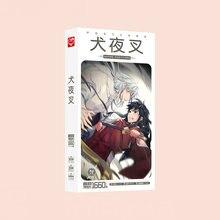 1660pcs/Box Inuyasha Postcards Anime Post Card Message Gift