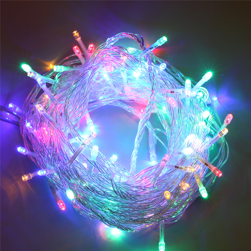 Led String Fairy Lights Decorative Led Lights USB Street Garland Christmas Light Outdoor Indoor Holiday Lighting