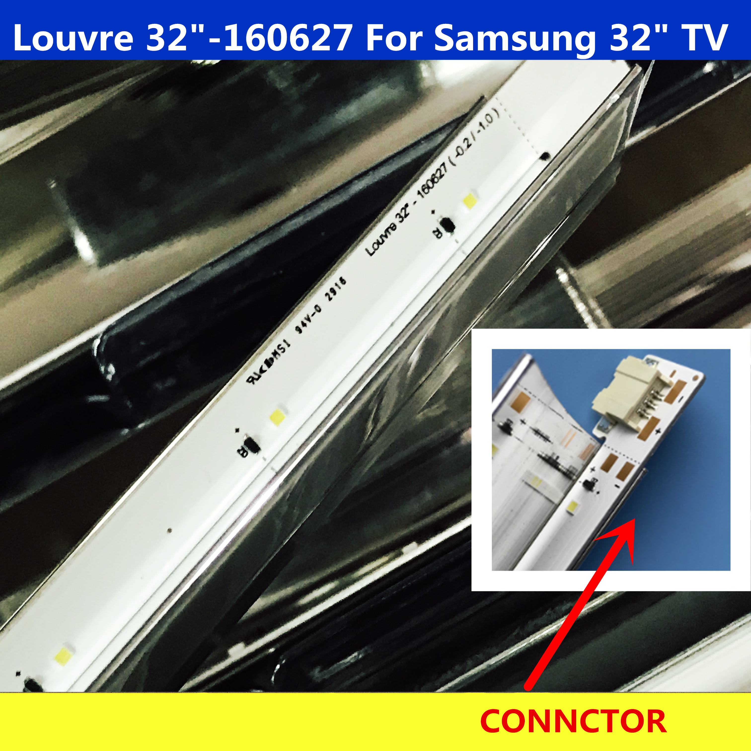"2PCS LED Backlight strip For Samsung UE32K4109AK Louvre 32""-160627 UE32K4100AK Un32k4100ag Ue32k5100 T32E319EI-EN LT32E319"
