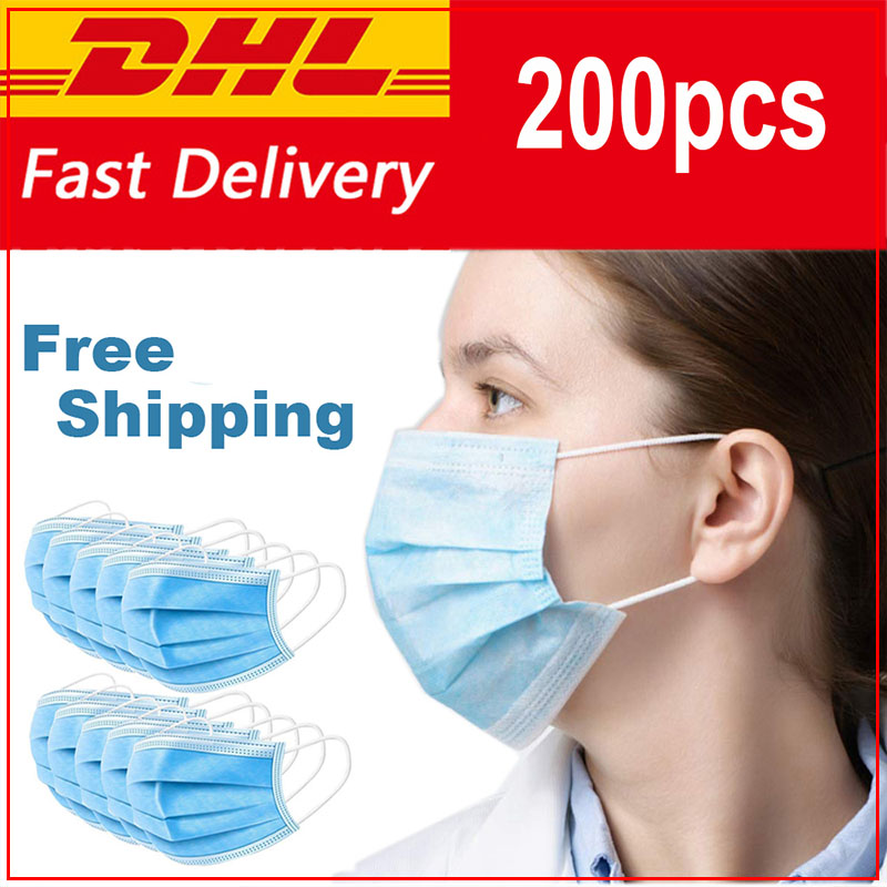 Dustproof Anti-fog And Breathable Face Masks 95% Filtration Masks Fast Shipping Surgical Medical Mouth Face Masks Kids Mascarine