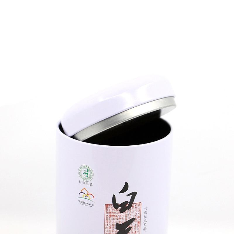 Ev ve Bahçe'ten Çay Kutuları'de Xin Jia Yi ambalaj kolu kapaklı Metal yuvarlak boya teneke kutu