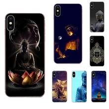 Smartphone Phone Transparent Cases Gautama Buddha For Galaxy J1 J2 J3 J330 J4 J5 J6 J7 J730 J8 2015 2016 2017 2018 mini Pro(China)