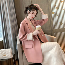 Plus size S-5XL fashionable ladies blazer 2020 spring and autumn casual loose long sleeve women's jacket High-end fashion coat