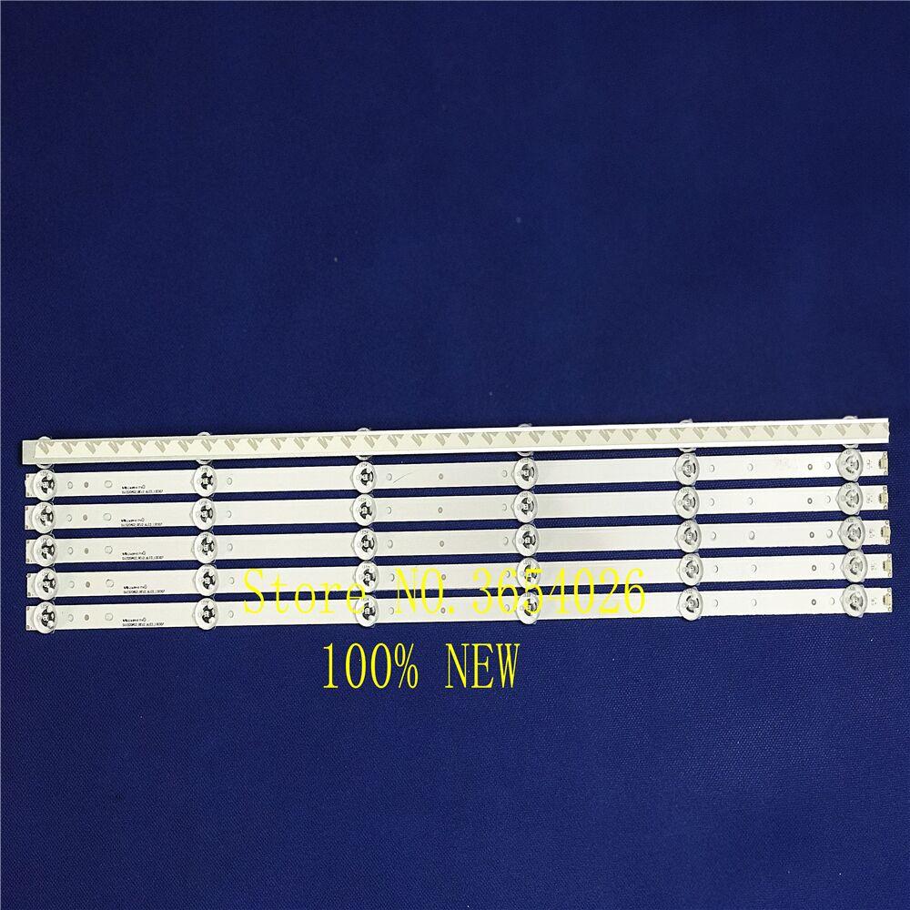 6pcs Led Backlight For32inhc Hisense LB-C320X14-E12-H-G1-SE3 SVJ320AG2 SVJ320AK3 SVJ320AG2-REV2-6LED-130307 1pcs = 6led 56cm