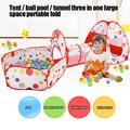Складная детская игрушка, бассейн для шаров, портативная детская палатка, туннель для ползания, для океана, игры в помещении и на открытом во...