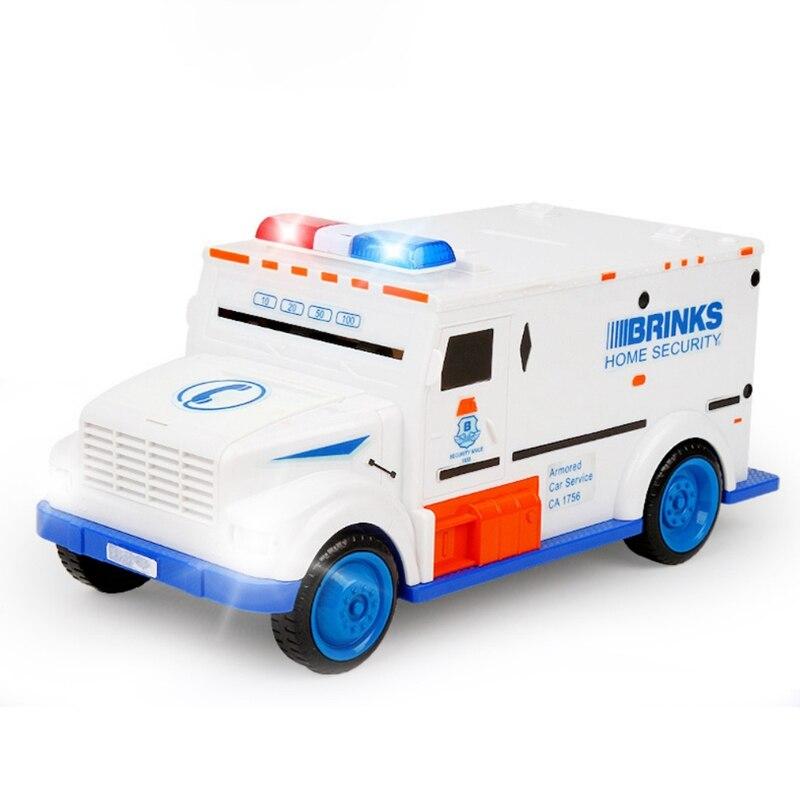 Novelty & Gag Toys Safe Truck Digital Piggy Bank Kids Toy New Saving Deposit Boxes Electronic Infant Children Cash Car Coin Toys
