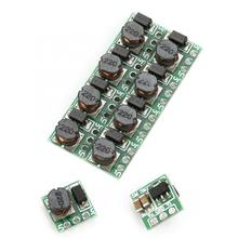 10Pcs DC-DC Boost Converter Module 1.5V 1.8V 2.8V 3V 3.3V 3.7V 4.2V to 5V Adjustable Step up Power Module for DIY Kit T64 цена