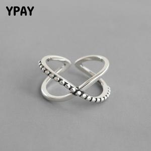YPAY 100% Pure 925 Sterling Silver Open