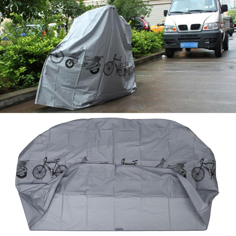 Outdoor Motorcycle Bicycle Cover Rain Dust Cover Waterproof Protective Gear