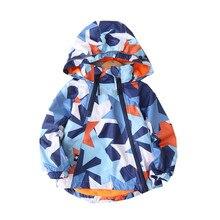 Manteau imperméable pour enfant, veste en molleton chaud avec capuche, pour bébé garçons, tenue pour enfants 90 vêtements dextérieur pour enfants cm, imprimé pentagramme 150