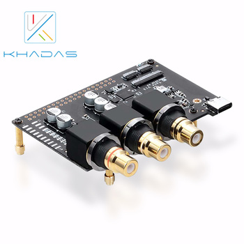 Khadas Tone Board and Case Hi-Res Audio USB DAC Based in Chip 32-bit ES9038Q2M  XMOS XU208 External Sound Card with S/PDIF input topping d10 mini usb dac css xmos xu208 es9018k2m opa2134 audio amplifier decoder