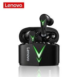 Lenovo LP6 наушники-вкладыши TWS с Gaming headset 65 г-жа низкой задержкой Беспроводные наушники с микрофоном бас Bluetooth аудио Спортивные Bluetooth геймер