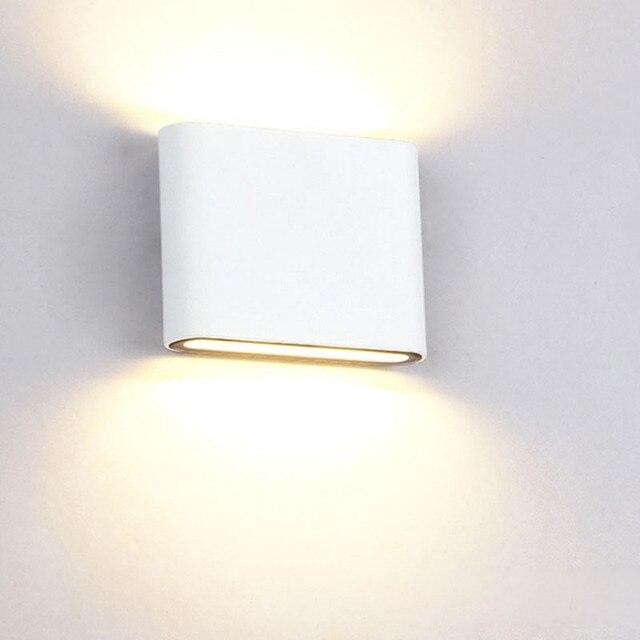 LED étanche extérieur industriel lampes murales 6W 12W intérieur LED escalier lumière IP65 couloir chevet appliques murales pour la maison