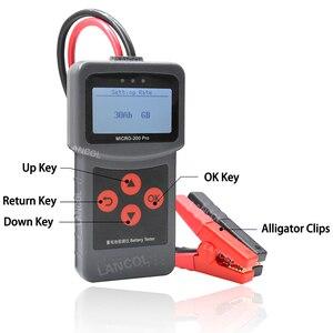 Image 3 - Lancol Micro200Pro 12 V Batteria Auto Tester 40 a 2000CCA 12 Volt Utensili a Batteria Per La Macchina Rapido A Gomito di Ricarica diagnostica