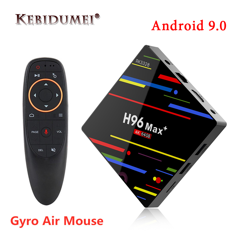 H96 MAX Plus TV BOX Android 9.0 4GB RAM 32GB 64GB ROM Rockchip Set Top Box 5G Wifi 4K Smart Media Player Pro PK X96 RK3318 HK1(China)