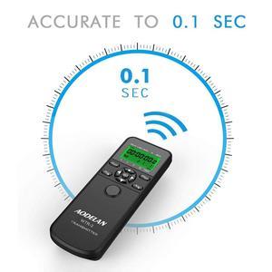Image 2 - AODELAN WTR2 لاسلكي مصراع الإفراج الموقت التحكم عن بعد لنيكون Z6 ، Z7 ، Coolpix P1000 ، D850 ، D810 ، D700 ، D4 ، D5 ، D4s ، D3100